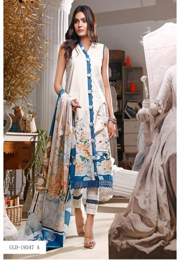Firdous Urbane Digital Lawn Collection ULD 19347-A