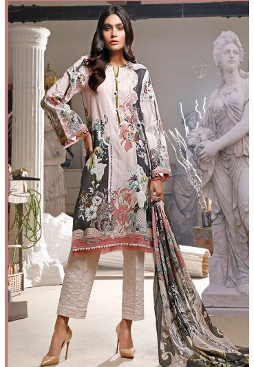 Firdous Urbane Digital Lawn Collection ULD 19442-B