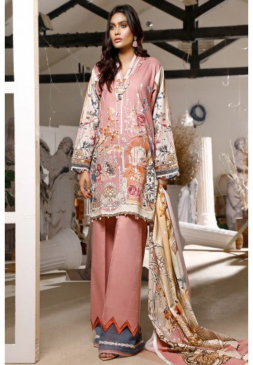 Firdous Urbane Digital Lawn Collection ULD 19443-B