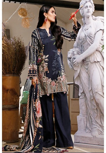 Firdous Urbane Digital Lawn Collection ULD 19448-B