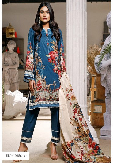 Firdous Urbane Digital Lawn Collection ULD 19456-A