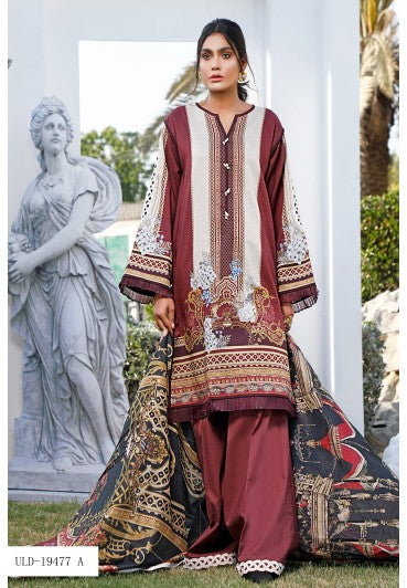 Firdous Urbane Digital Lawn Collection ULD 19477-A