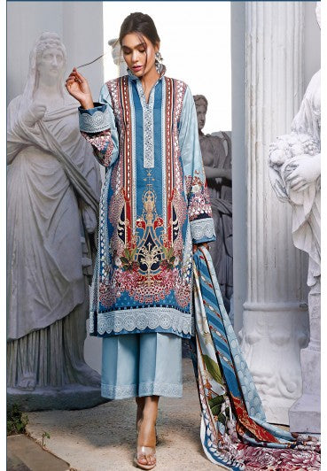 Firdous Urbane Digital Lawn Collection ULD 19561-B