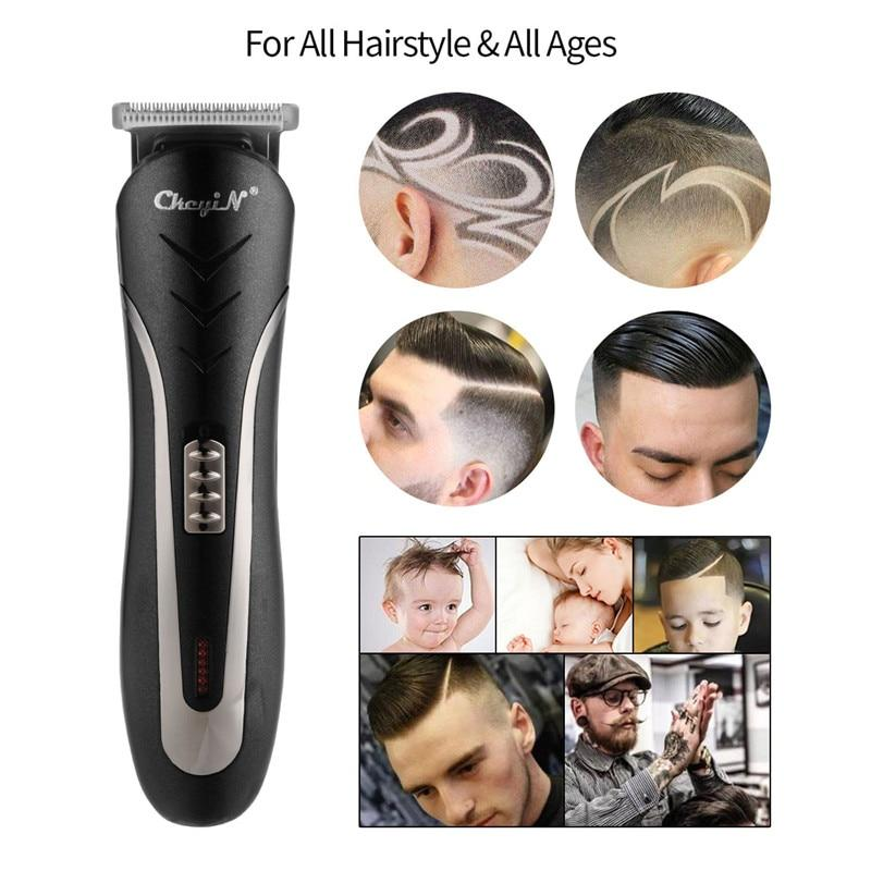 3 In 1 Electric Hair Clipper Razor Beard Shaver Nose Hair Cutter Trimmer Limit Comb Set Rechargeable Home Grooming Kit
