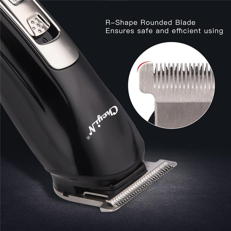 3 in 1 Potable Barber Hair Trimmer for Men Beard Cutter Professional Electric Razor Clippers Shaving Nose Ear Hair Remover Blade