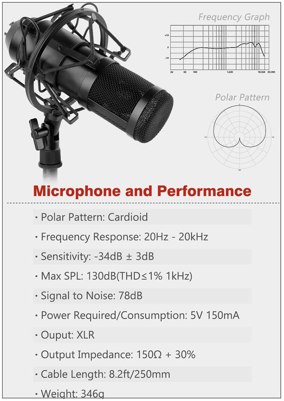 100% Original ZINGYOU Condenser Microphone 3.5mm Streaming Studio Mic For Computer PC Professional Voice Recording Microphone
