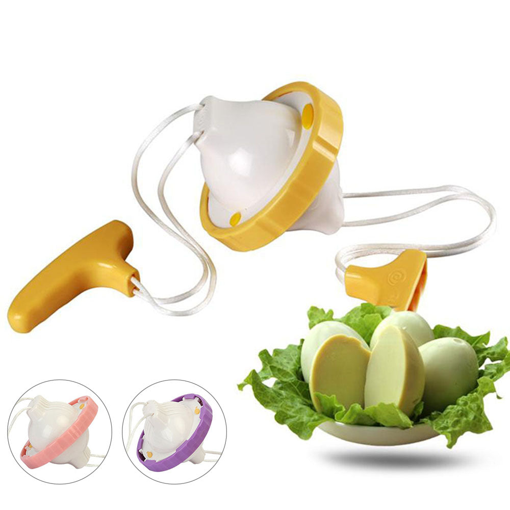 Golden Egg Maker Egg Scrambler Shaker Egg Yolk White Mixer Hand Powered Kitchen Cooking Tool