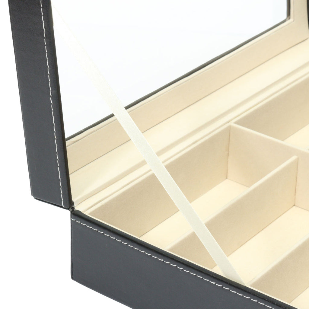 8 Grid Eye Glasses Case Sunglasses Display Box Storage Holder Organizer