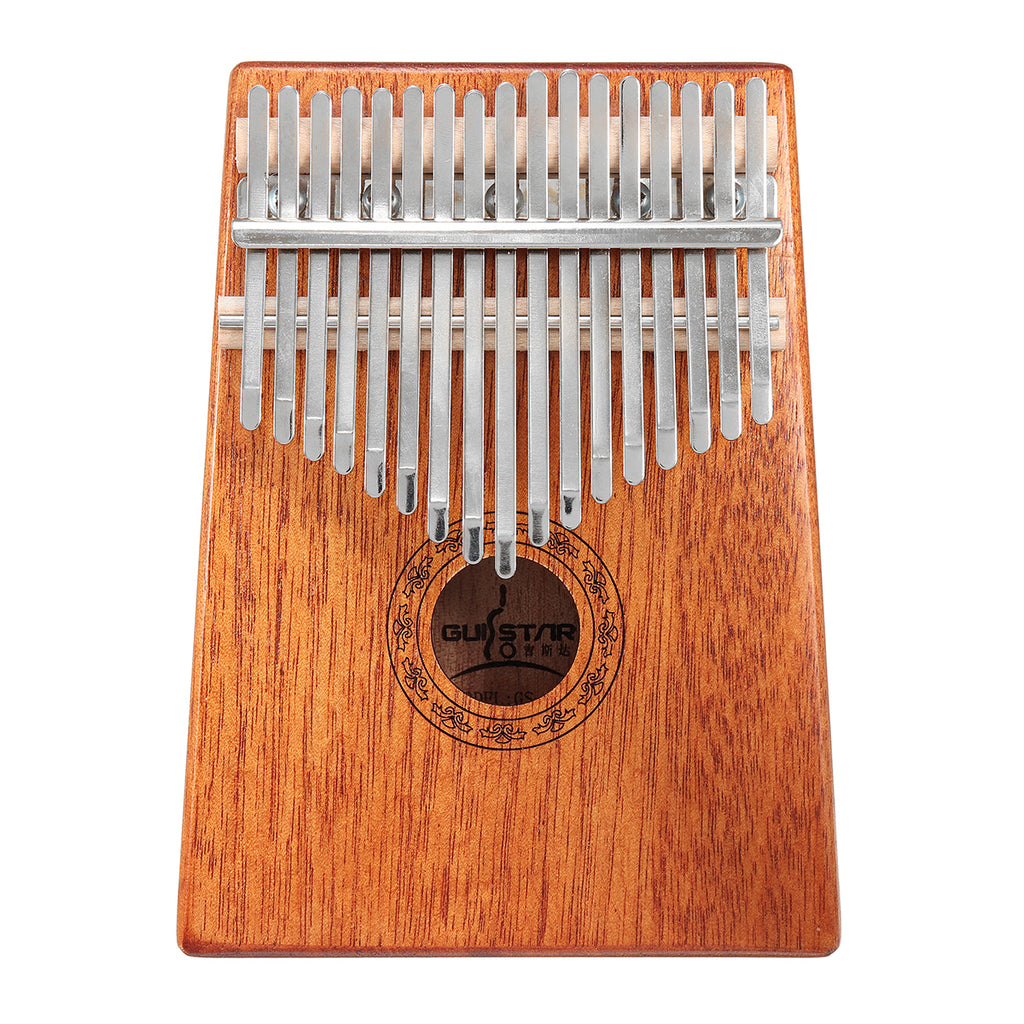 Wood Piano Finger Percussion With Tuning Hammer