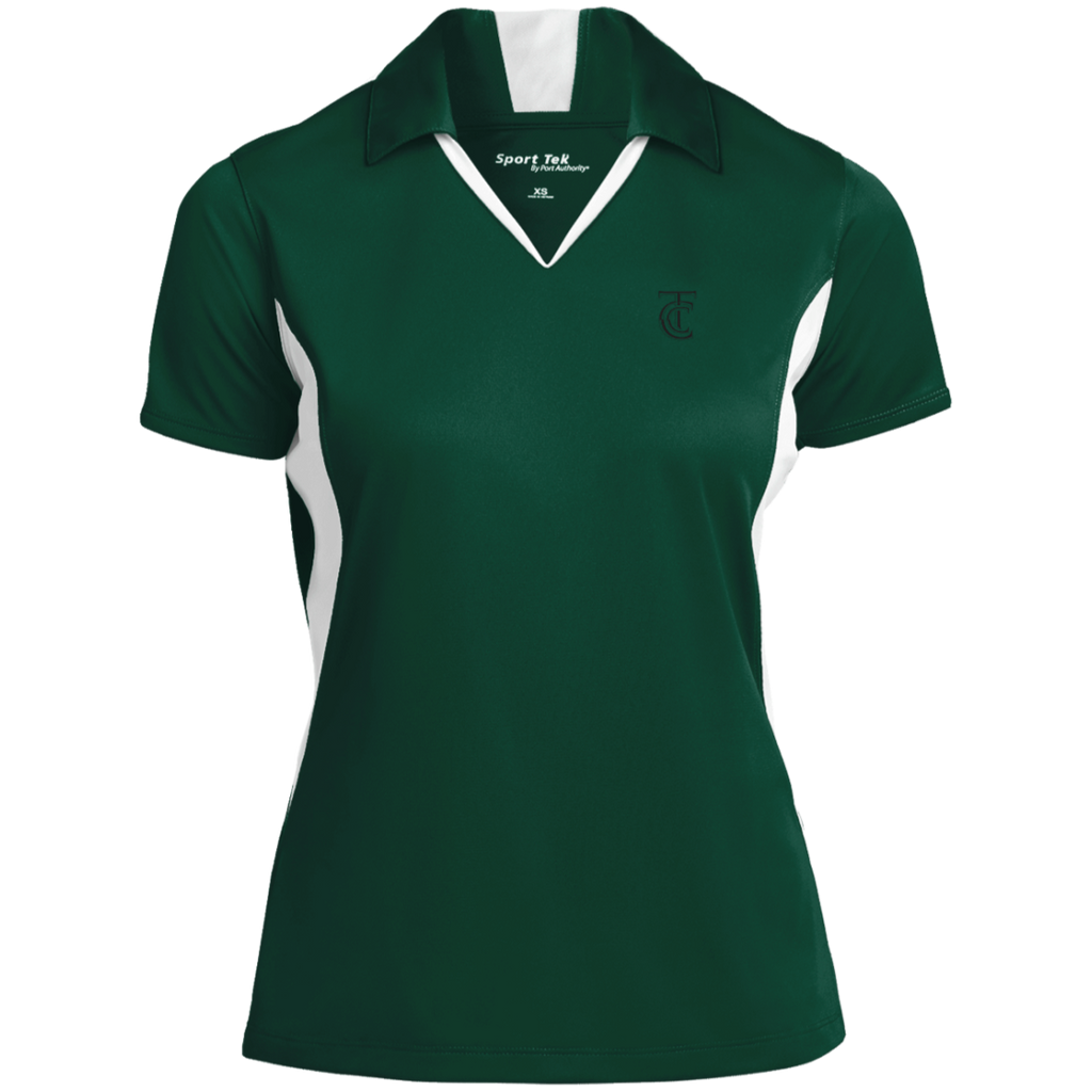 Terminal City Club Ladies' Colorblock Performance Polo