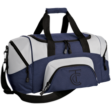 Load image into Gallery viewer, Terminal City Club Small Colorblock Sport Duffel Bag