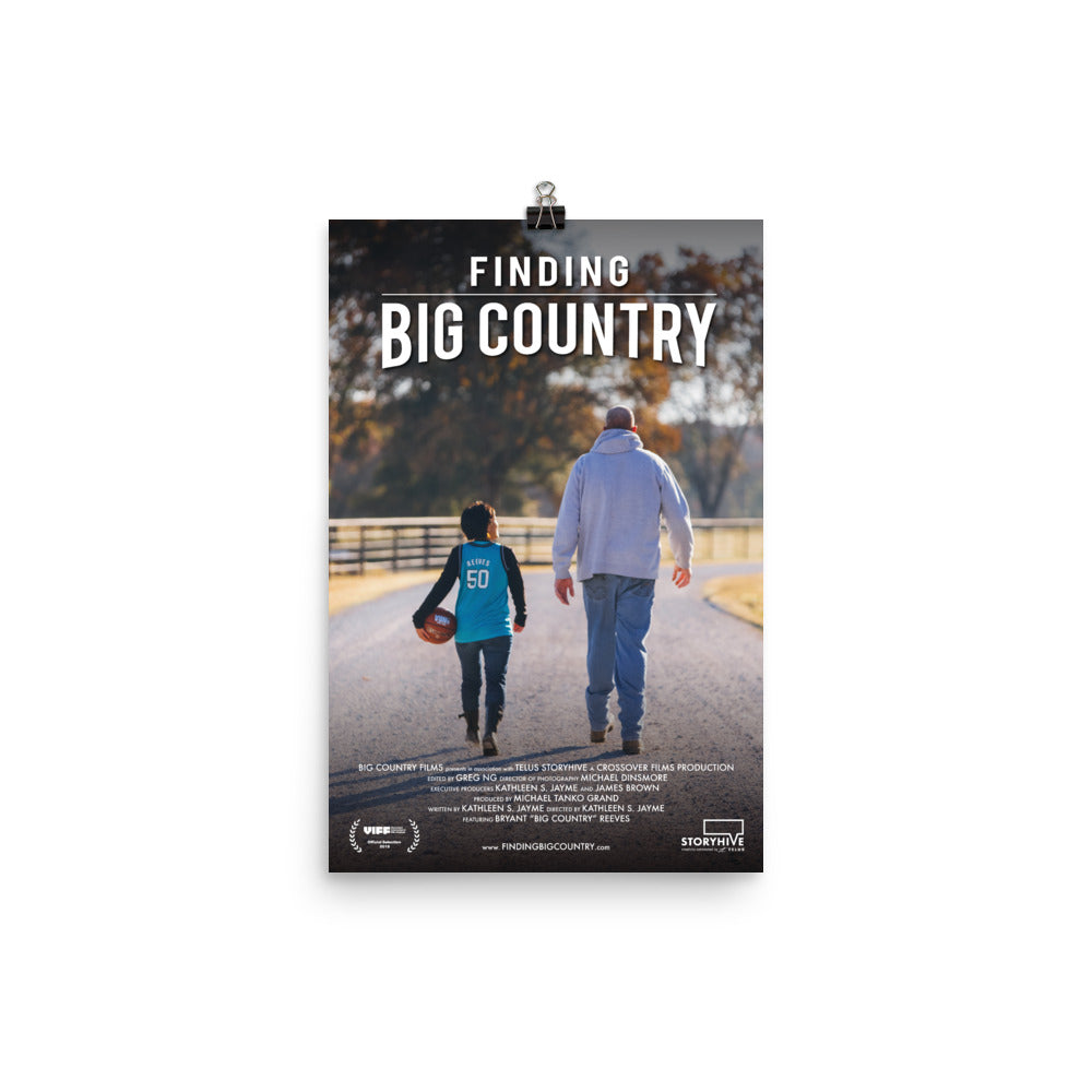 Finding Big Country Poster - The Merch Club