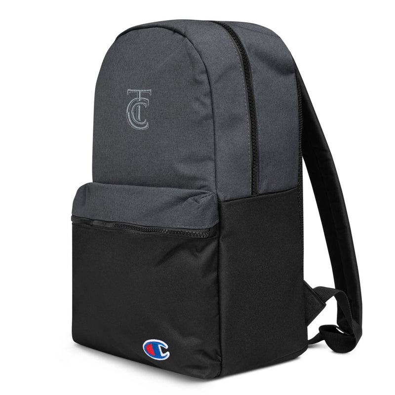 Terminal City Club Embroidered Champion Backpack