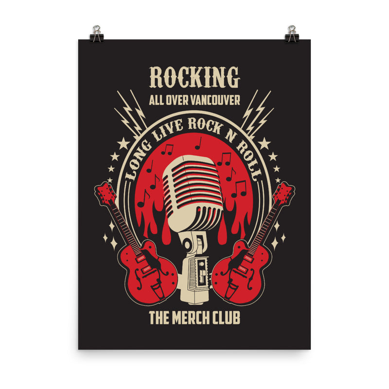 Rocking all over the world Poster - The Merch Club