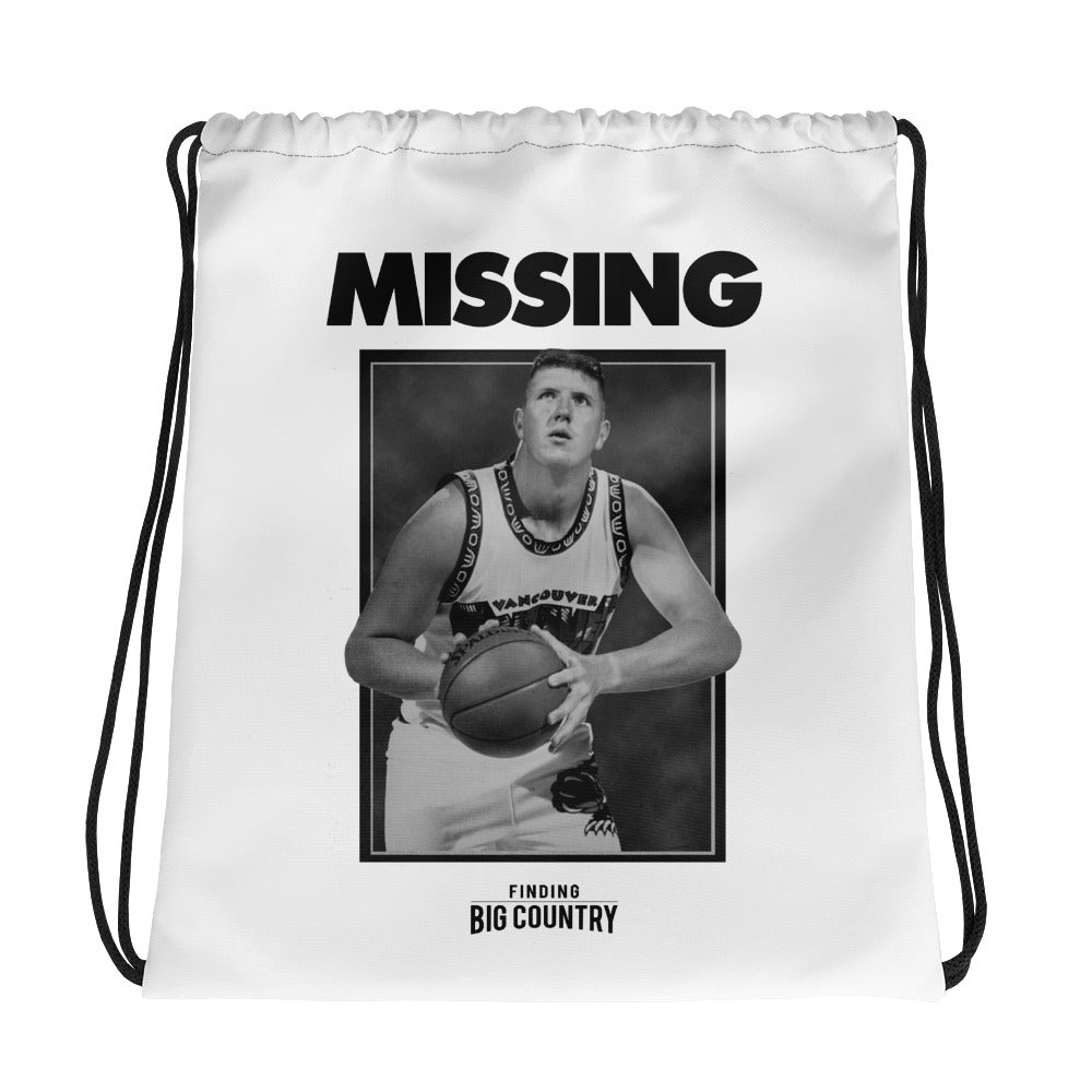 Finding Big Country Drawstring bag - The Merch Club