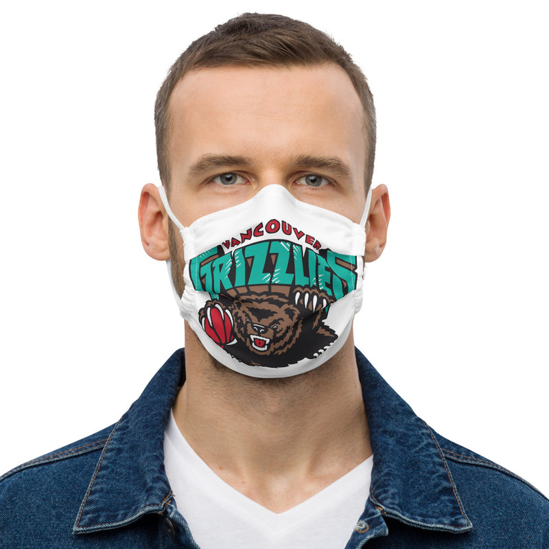Grizzlies Premium face mask