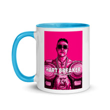 Load image into Gallery viewer, Hart Breaker Mug with Color Inside