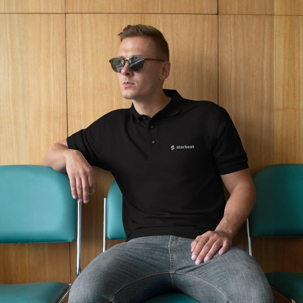 StarBeat Men's Premium Polo - The Merch Club