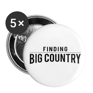Buttons large 2.2'' (5-pack) - The Merch Club