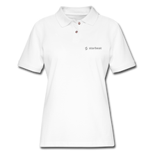 Load image into Gallery viewer, StarBeat Women's Pique Polo Shirt - The Merch Club