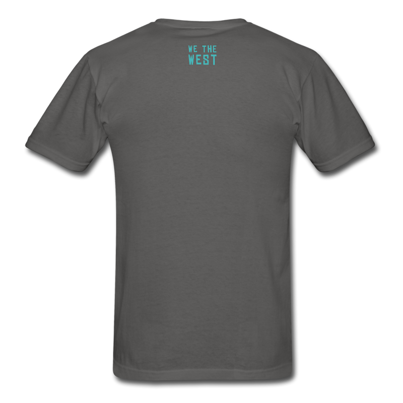 For The Game / We The West Unisex T-Shirt - charcoal