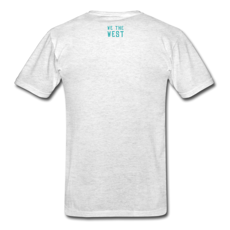 For The Game / We The West Unisex T-Shirt - light heather gray