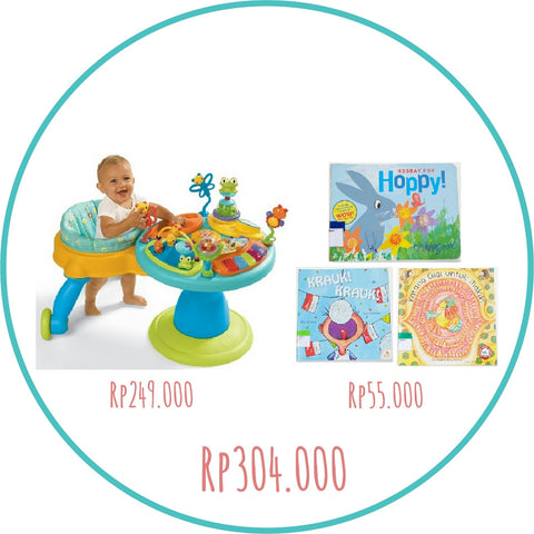 Bundle of Joy: Bright Starts Around We Go & Pustakalana Books