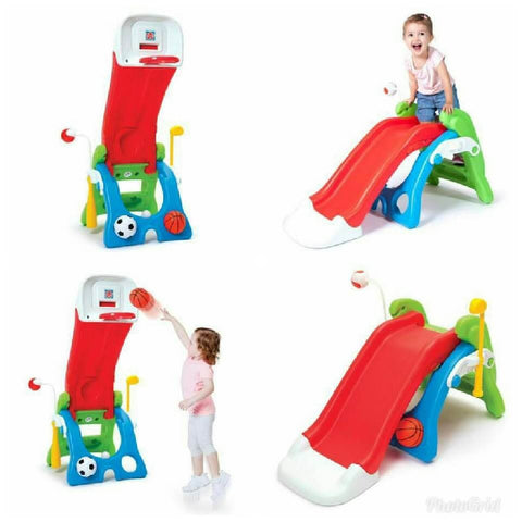 Grow n Up 6 in 1 Slide & Sport Station
