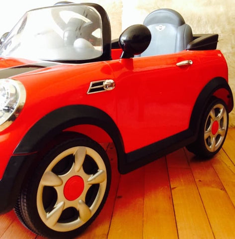 Junior Mobil Aki BMW Mini Cooper S Series [Tanpa Remote]