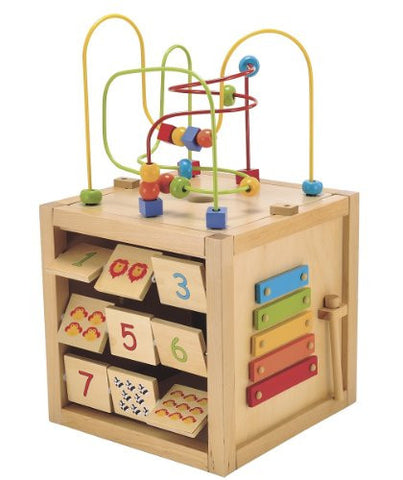 ELC Giant Wooden Activity Cube