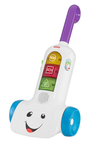 Bundle of Toys 3 : Fisher Price Laugh & Learn Puppy's Activity Home & Fisher Price Laugh and Learn Smart Stages Vacuum