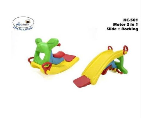 L'abeille Motor 2in1 Slide & Rocker