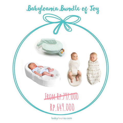 Bundle of Joy: Coccoonababy, My Brest Friend, & Ergobaby Swaddler Set