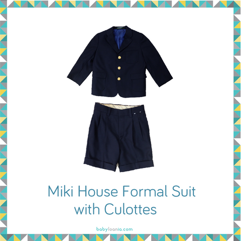 Miki House Formal Suit with Culottes