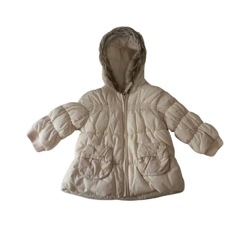 Baby Next - White Winter Jacket
