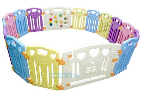 Coby Haus Safety Play Fence 16+2