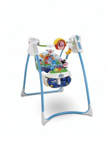 Fisher Price Lil Laugh and Learn Swing