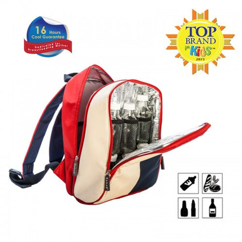 Gabag Groovy Breastmilk Cooler Backpack & Ice Gel