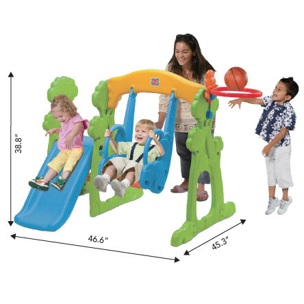 Grow'N Up First Steps Scramble N Slide Set
