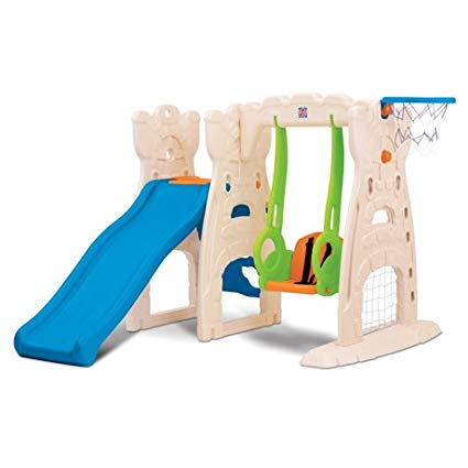 Grow n Up Scramble 'N Slide Play Center
