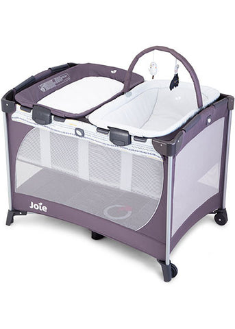 Joie Commuter Change & Snooze Travel Cot & Mattress Babybee