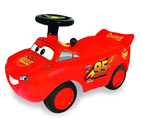 Kiddieland Push Car Lightning Mcqueen