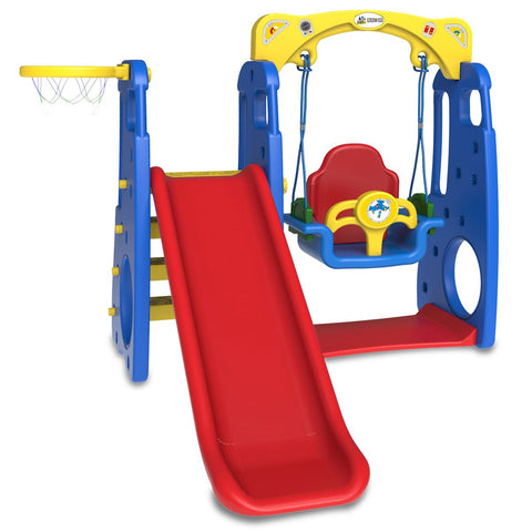 Kids Slide and Swing 4 in 1