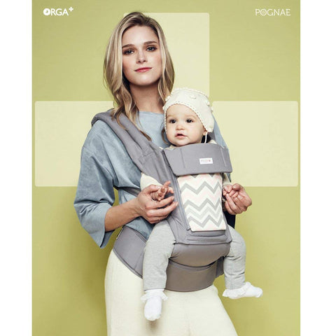 Pognae ORGA+ 100% All In One Organic Hipseat Carrier