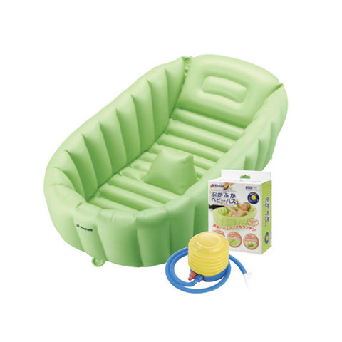 Richell Inflatable Soft Baby Bath Tub