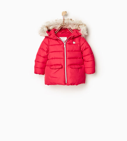 Zara Kids Basic Quilted Jacket