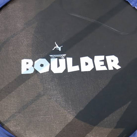 Boulder Round Trampoline (without Safety Net)