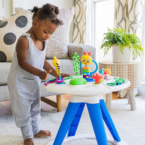 Baby Einstein - Around We Grow 4-in-1 Walk Around Discovery Activity Center Table