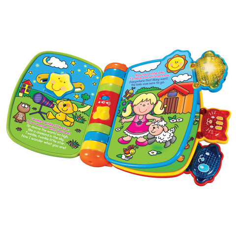 Bundle of Toys 6 : Vtech Animal Nursery Rhymes, ELC Stacking Rings & Fisher Price Laugh and Learn Medical Kit