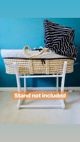 Mothercare Roll Up Moses Basket (tanpa stand)